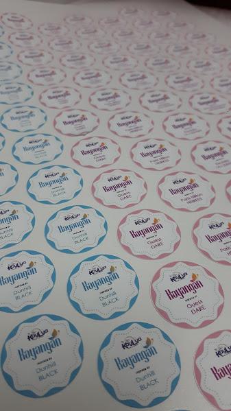 Custom Sticker Label Produk Kosmetik - Minyak Wangi